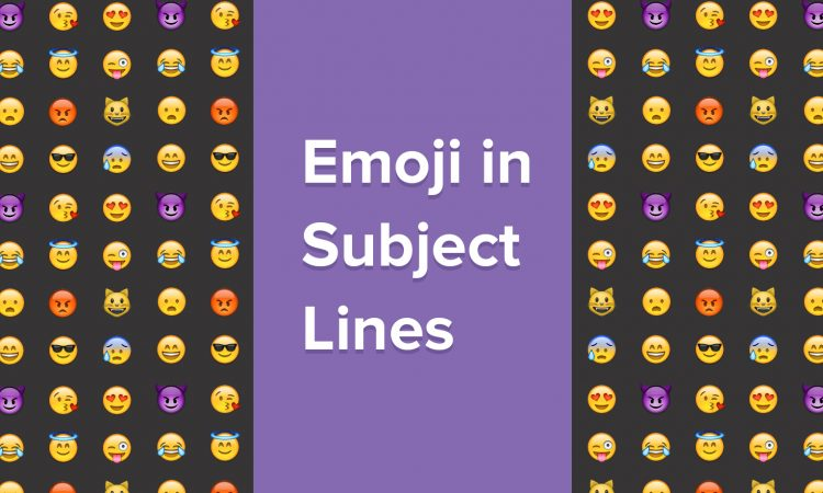 Emoji in Subject lines