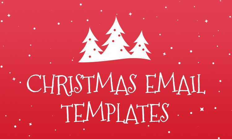 christmas email template blog